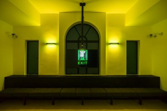 """李明 """"HUGOBOSS亚洲新锐艺术家大奖""""展览现场图 上海外滩美术馆 2017"""