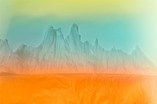 蒋志《无色 之六》 收藏级喷墨打印 120x80cm 2017