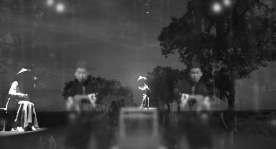"""芦幽优&芦雅兰 《对话-忘记艺术》 影像视频 时长:6'00""""& 6'00 版数 :18 2017"""