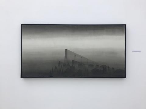唐晖《日志风景系列》69×137cm 2016