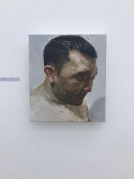 贾蔼力《友厚》40×35cm 2017