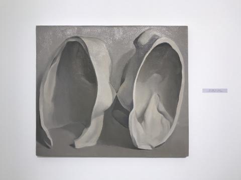 刘聪《石膏像》70×60cm 2017