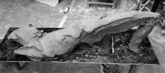《砂器》尺寸可变 石膏、树脂、木