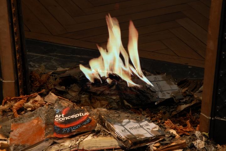 虚拟火炉 全息摄影装置 2010
