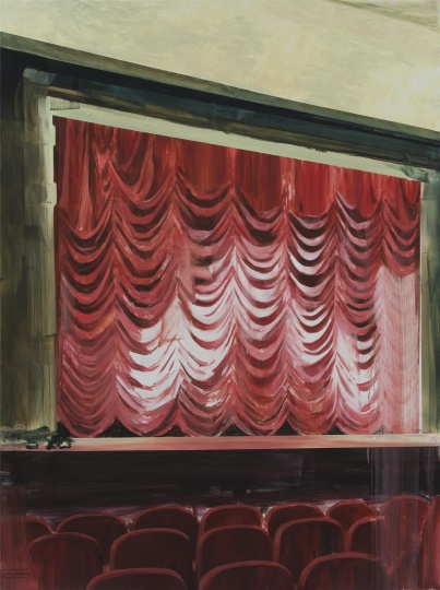 影院系列No.19 200×150cm 布面油画 2016