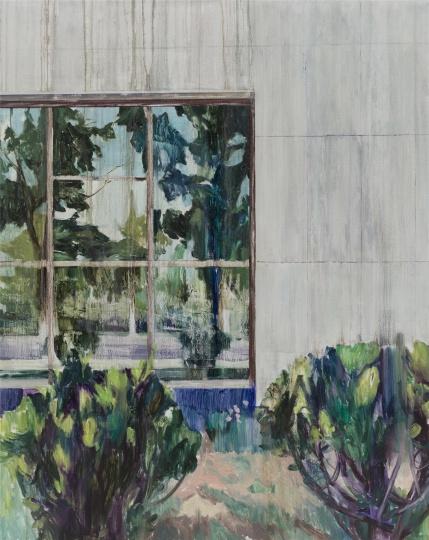 Mirror 150×120cm 布面油画 2016