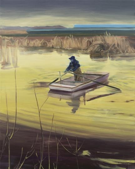 流过城市的河 150×120cm 布面油画 2017