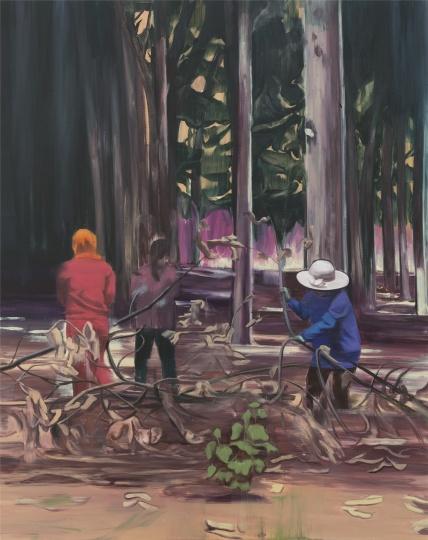 牧林人A 150×120cm 布面油画 2017