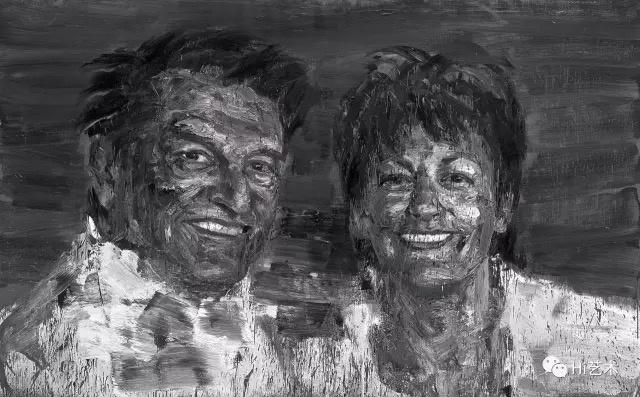严培明《尤伦斯夫妇肖像》