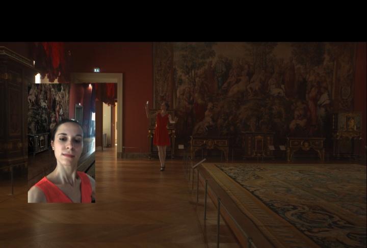 """姚清妹,光谱:夜之皇室芭蕾 I,2016,录像,8'10"""",图片由艺术家及魔金石空间提供 图片二"""