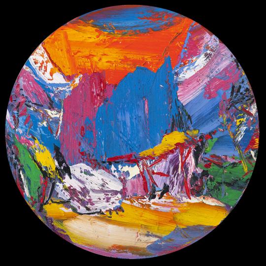 尹朝阳 《松云》 D.250cm 布面油画 2017  RMB:约150万元