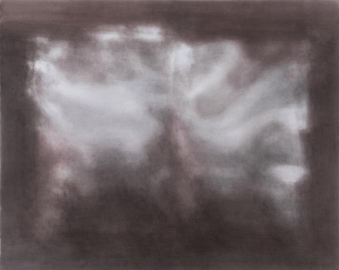 康海涛 《反光》 160 x 201.6 cm 纸板丙烯 2017  RMB:54.5万元
