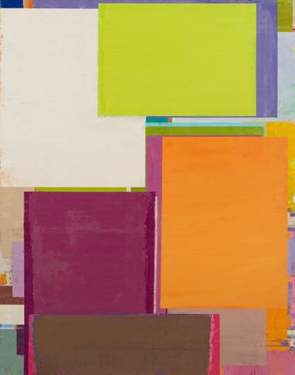 本杰明·阿普尔 《将桌子置于角落 29》 165×130cm 布面油画 2016 RMB:9.5万元