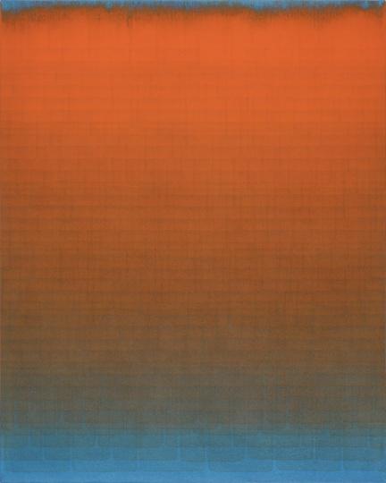 沈忱 《Untitled No.79179-17》 101X81cm 布面丙烯 2017  RMB:12.5万元