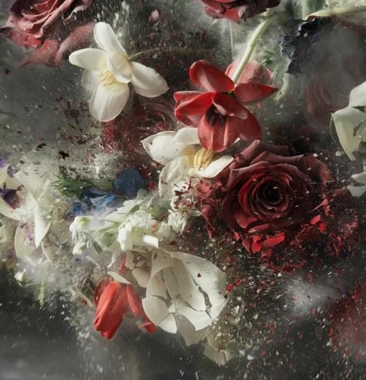 Ori Gersht 《爆炸,无题18》156 x 150cm档案颜料印刷品2016