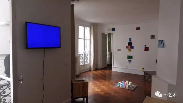 艺术家娜布其在巴黎DawanArt项目空间的驻地项目以及研讨会现场