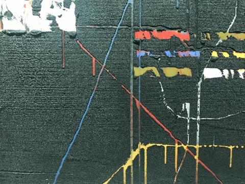 安立奎·布里克曼 《黑色混乱》(细节)