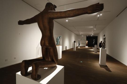 """蔡志松如何在民生美术馆的结构空间里,叙写一出""""天人之际""""的遐想?"""