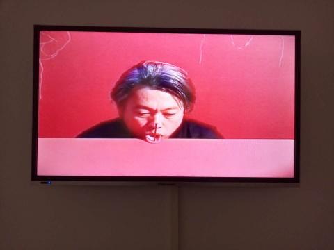 《红房子》 2分5秒 影像、表演 2004