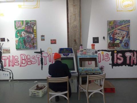 奶粉周个展开幕,Tabula Rasa画廊变身成动感俱乐部
