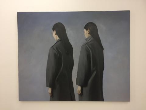 《或近或远》 137×171cm 布面油画 2017