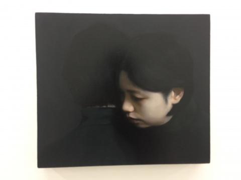 《目光交错》部分作品41×36cm 布面油画 2017