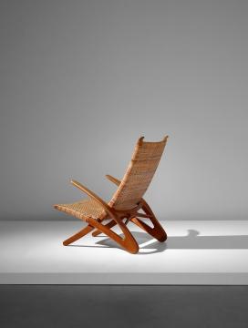 汉斯‧韦格纳稀有《海豚》折叠扶手椅 型号JH5101950  估价:75万 – 120万港元