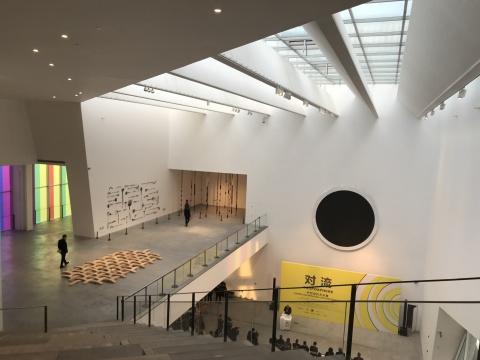 """北京民生现代美术馆""""对流-中巴当代艺术展""""现场"""