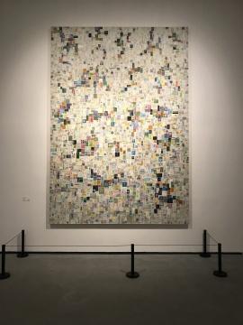 安娜·普拉塔《格尔森(里卡多)》150×120cm2017