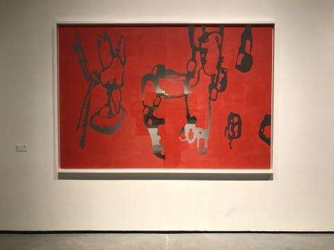 卡利托·卡瓦略萨《无题 Untitled》165×244cm 铝板油彩 2017