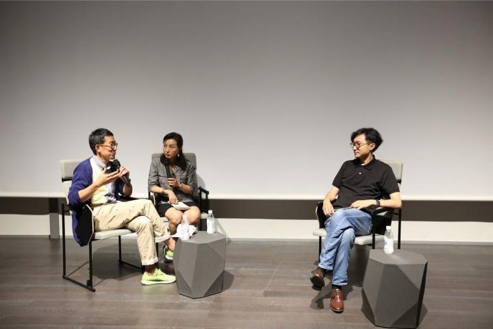 与金岛隆弘对谈亚洲当代艺术 2017