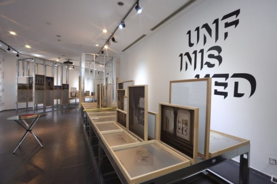 """空置楼盘的五十五种解决方式 北京塞万提斯学院展出""""未完成建筑""""展"""