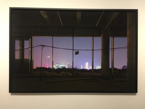 乔瓦尼·欧祖拉 《再次失去你,北京》 150×230c, 棉纸上艺术微喷、塑铝板、带框 2017