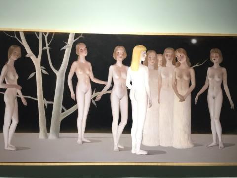 展览现场展出的王小双作品