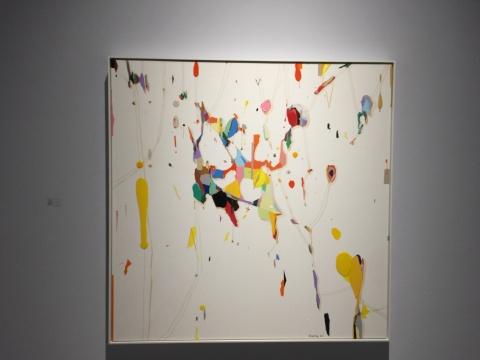 朱佩鸿 《我的空间2016-8》 160×160cm 布面丙烯 2017