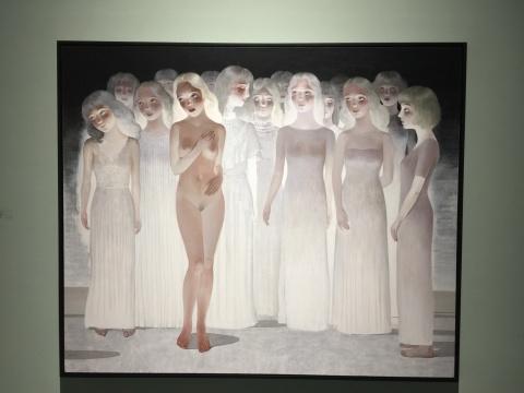 王小双 《维纳斯的身影》 140×180cm 布面丙烯 2015-2017