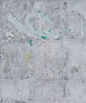 《词语》 152x126.5cm 布面丙烯 2017