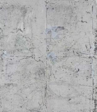 《昼夜平分》 120x105cm 布面丙烯 2017