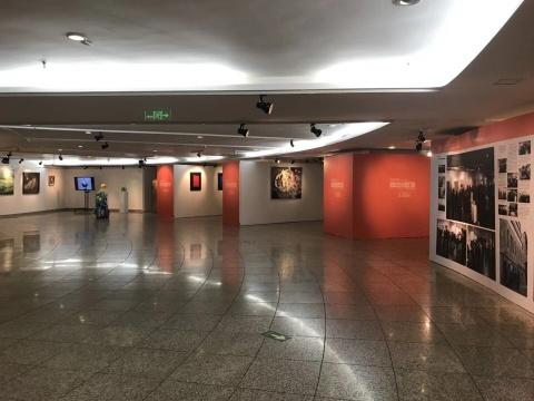 """""""西南中国:茁壮生长的力量""""中华世纪坛展览现场"""