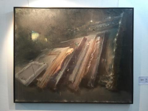 韦嘉2014年的作品《绘画课》