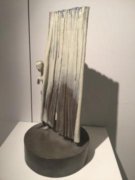 彭汉钦的铸铜具象雕塑