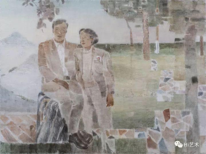 《春游Ⅱ》 180×240cm木板坦培拉2017