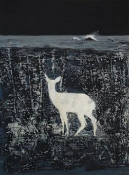 《白烟之二》150×110cm 布面油彩 2013