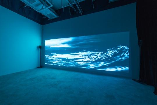 汤南南 《铸浪为山》 4分03秒 视频录像、有声、彩色 2015