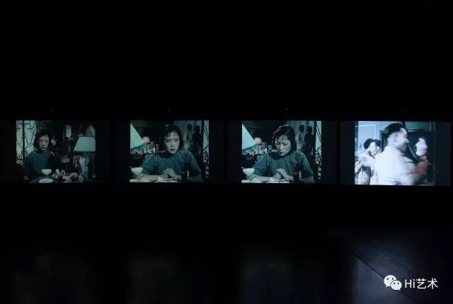 郝敬班《我不会跳舞》 四频录像、高清、彩色/黑白、有声 34分 02 秒 2015