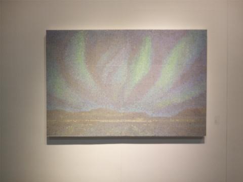 陶娜《星云图》120×180cm 油画 2015
