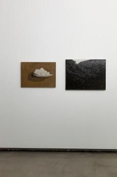闫冰 《云》 布面油画 50 x 70cm 2017闫冰 《一头牛》 布面油画 60 x 80cm 2017