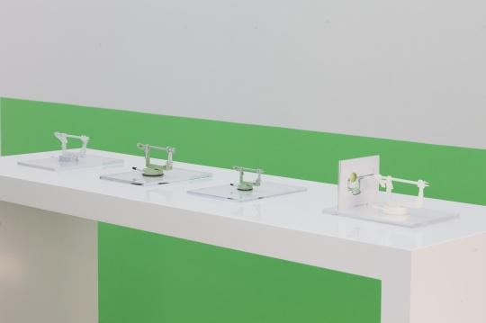 李亭葳 《伟大的日子,削苹果机》3D打印削苹果机50%缩小版,光敏树脂 2017