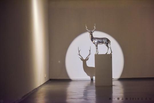 """以鹿为创作对象的""""凝""""系列作品"""