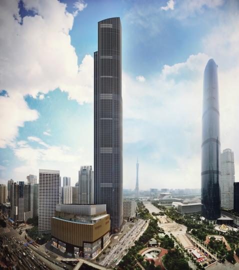 2018年3月份将开幕的广州K11大楼已经落成